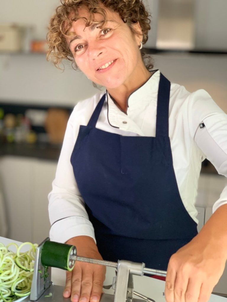 Laura the Chef cooks for boat owners and villa owners